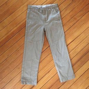 🆕 Crewcuts Lightweight Khaki Chino Pants Size 8